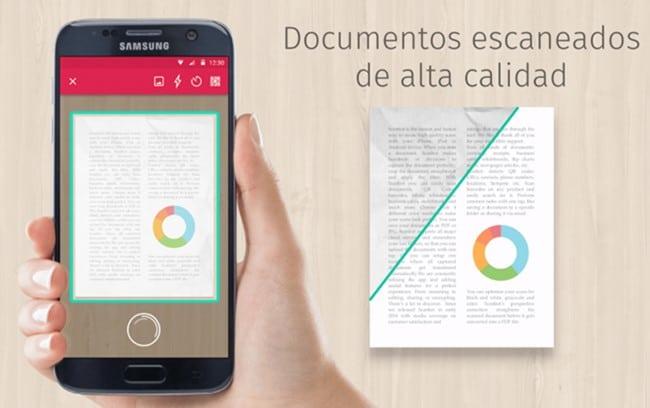 scanbot apk android escaner de documentos